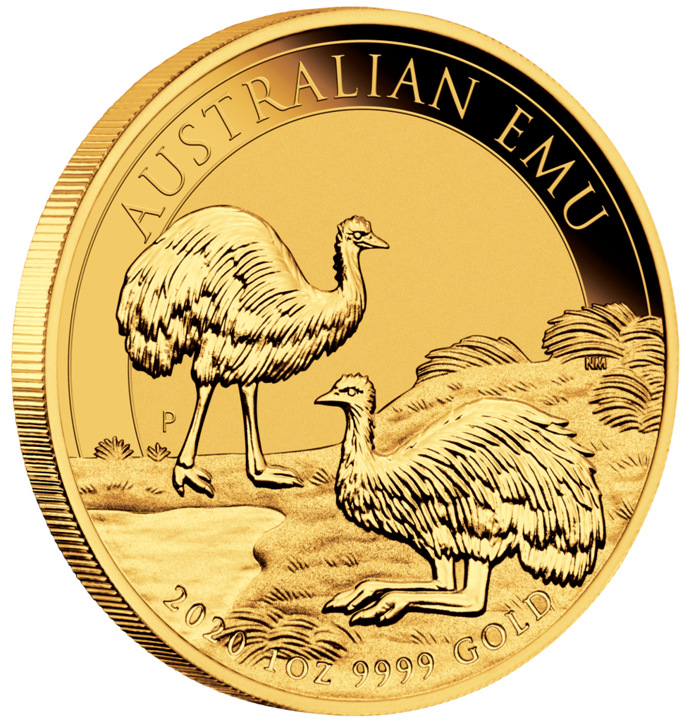 01-2020-Emu-1oz-Gold-Bullion-OnEdge-Actual