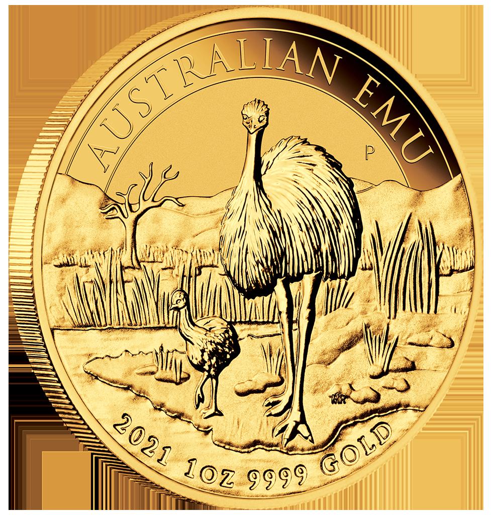 01-2020-Emu-1oz-Gold-Bullion-OnEdge-Actual